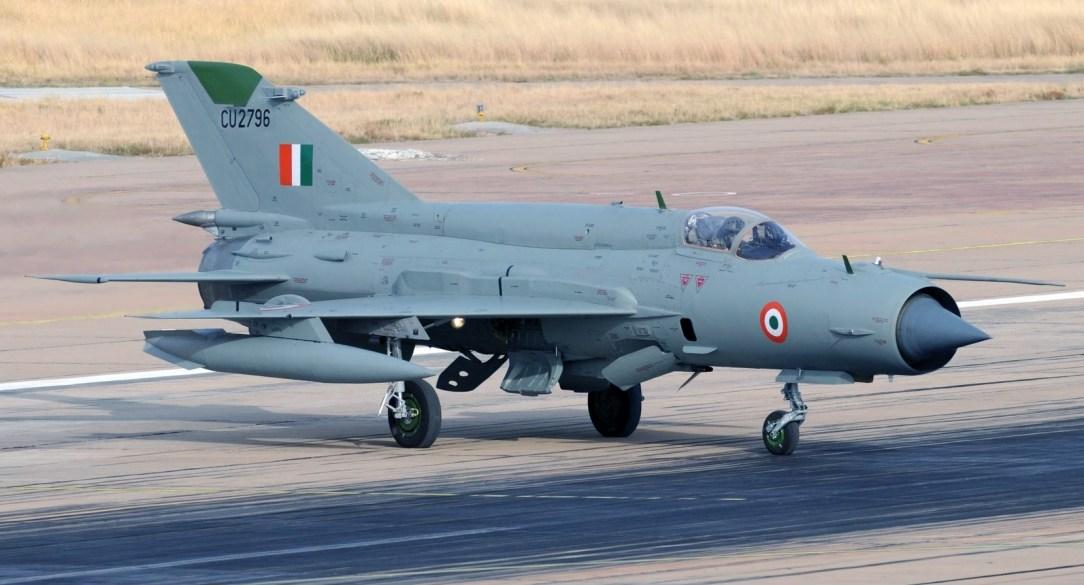 Indian AF MIG-21 Bison