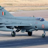 INDIAN AIR FORCE MIG-21 SHOT DOWN BY PAKISTAN AIR FORCE
