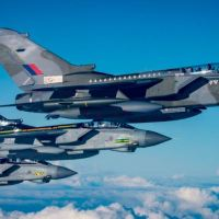 ROYAL AIR FORCE TORNADO FAREWELL TOUR