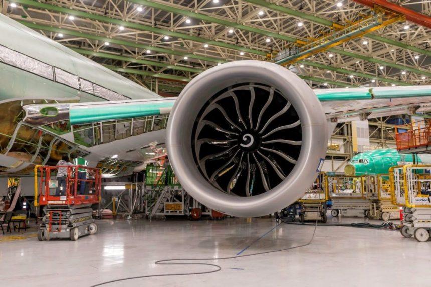 Boeing 777X engine