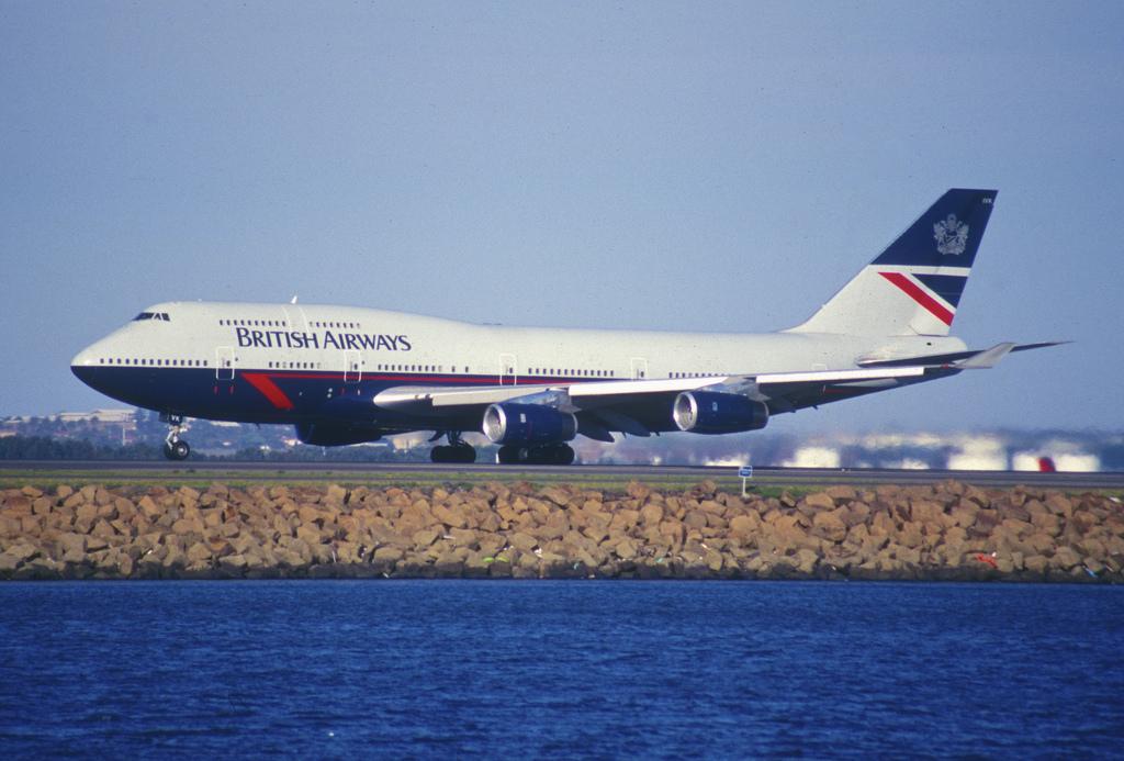 British Airways 747 Landor livery.