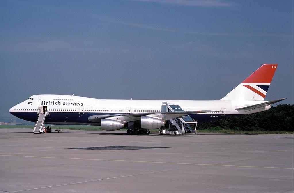 British Airways Boeing 747 Negus livery