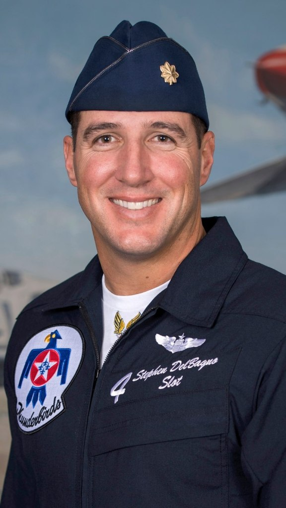 USAF Thunderbirds No. 4 Major Stephen 'Cajun' Del Bagno