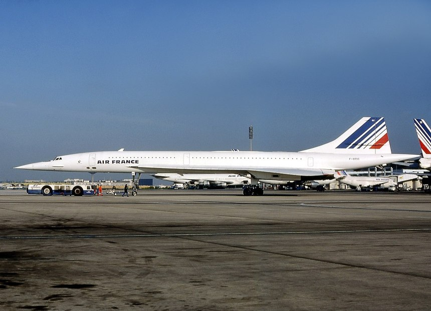 Air France Concorde (registration F-BTSC)