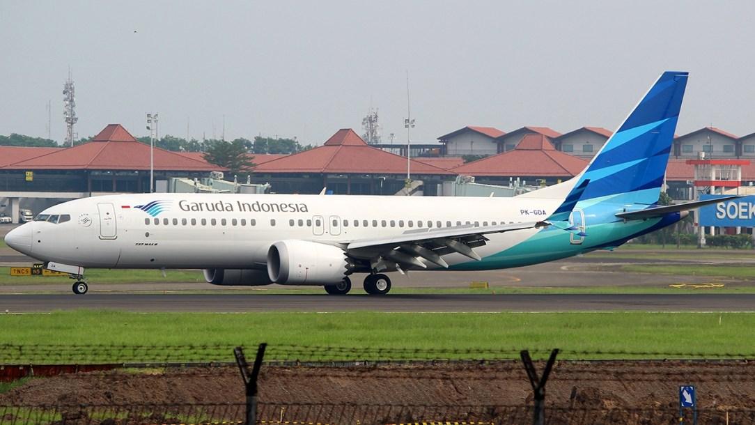 Garuda B737 MAX 8