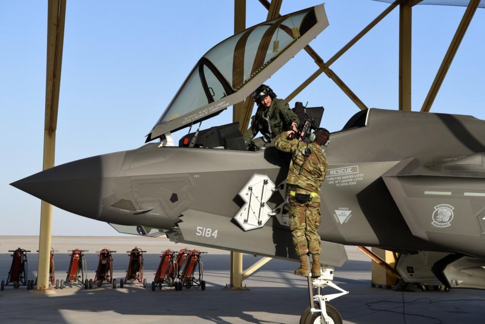 USAF F-35 in UAE
