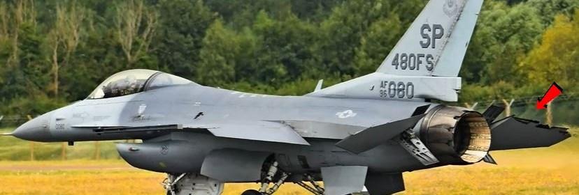 F-16 Viper Demo Team Emergency landing III