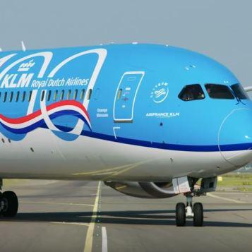 KLM 100-year anniversary