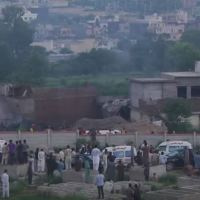 PAKISTAN ARMY PLANE CRASHED NEAR ISLAMABAD, KILLING 18 PEOPLE