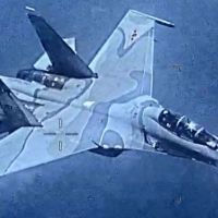 VENEZUELAN AIR FORCE SU-30 FLANKER AGGRESSIVELY SHADOWED U.S. NAVY EP-3 ARIES II