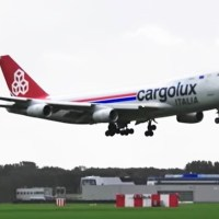 ENGINE FAILURE OF CARGOLUX ITALIA B747 DURING FLIGHT TO AMSTERDAM