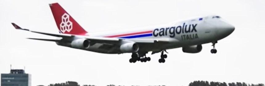 Cargolux Italia B747 Engine Failure During Flight to Amsterdam