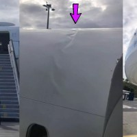 DELTA BOEING 757 SUFFERED SERIOUS FUSELAGE DAMAGE AFTER HARD LANDING AT PONTA DELGADA AIRPORT, AZORES