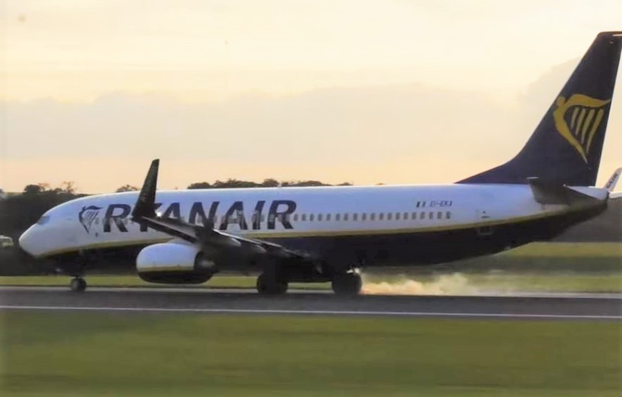 Ryanair B737 rejected take off at Manchester Airport