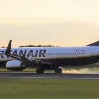 VIDEO - RYANAIR B737 REJECTED TAKE OFF AT FULL SPEED AT MANCHESTER AIRPORT