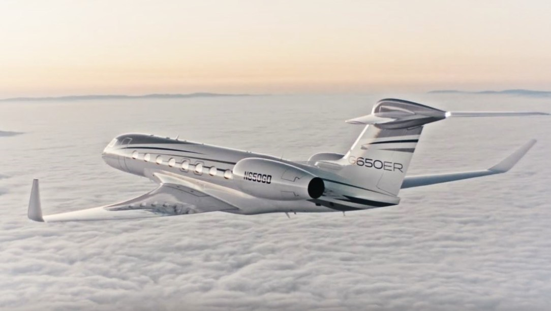 The Gulfstream G650ER: world's fastest long-range business jet - Image: Gulfstream Aerospace Corporation