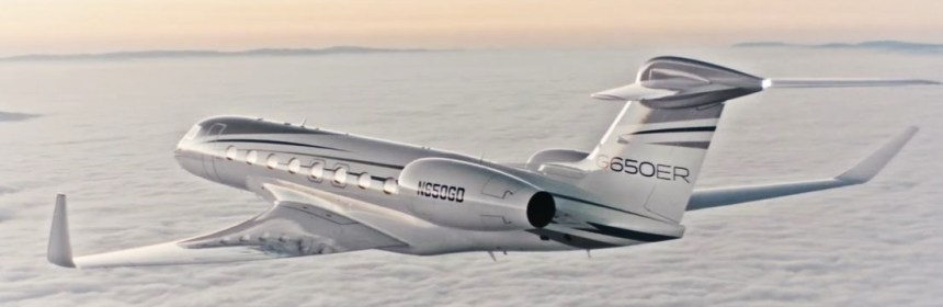 The Gulfstream G650ER: world's fastest long-range business jet - Image: Gulfstream Aerospace Corporation