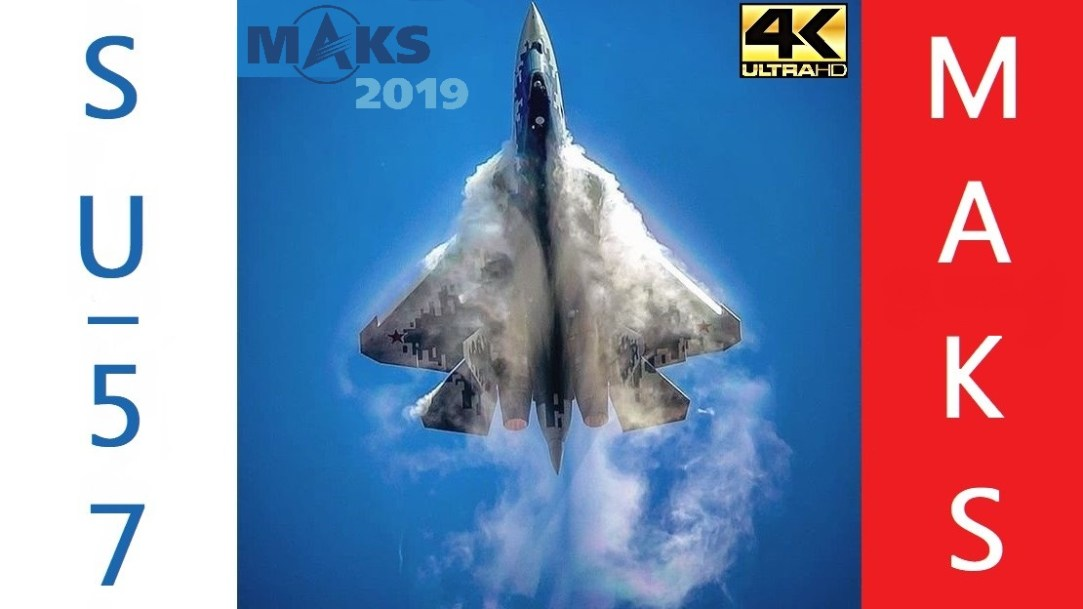 Su-57 Full Demo at MAKS 2019