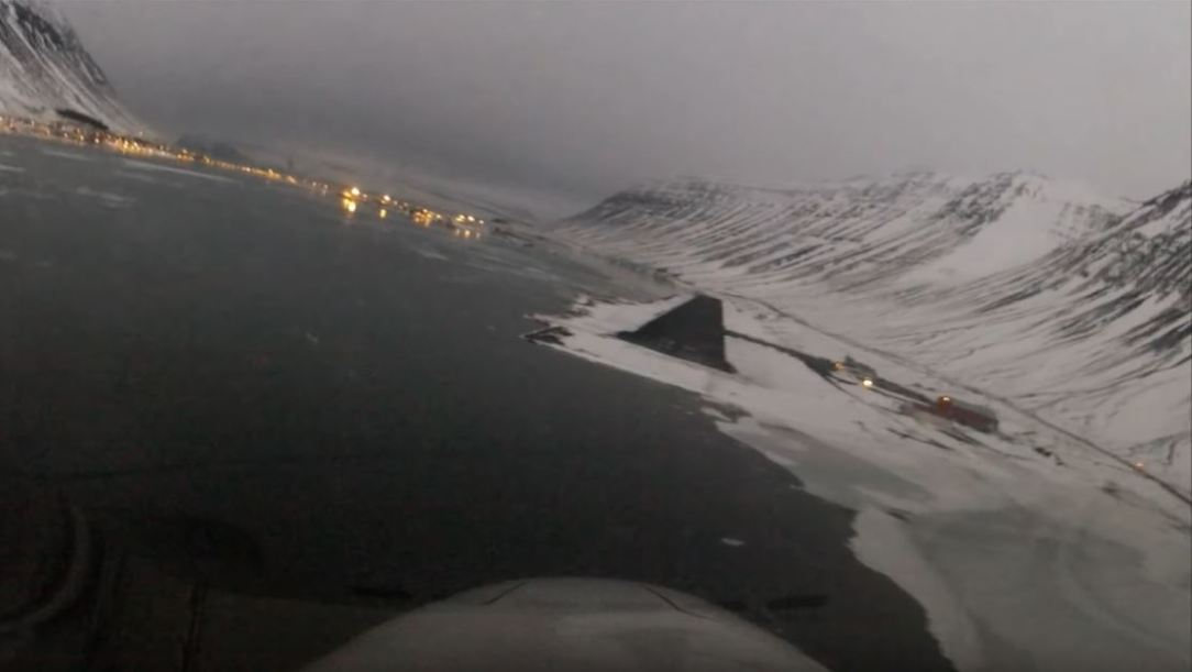 Spectacular landings in Iceland