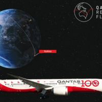 QANTAS PERFORMS NON-STOP TEST FLIGHT BETWEEN LONDON AND SYDNEY