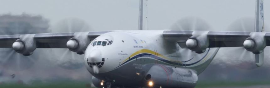 The biggest prop plane in the world: the Antonov An-22