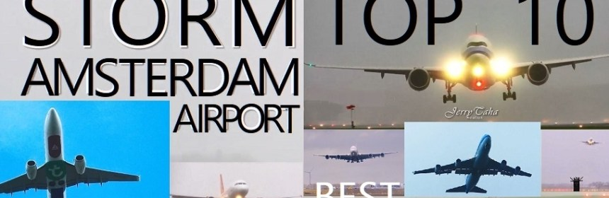Top 10 Go Arounds at Amsterdam Airport