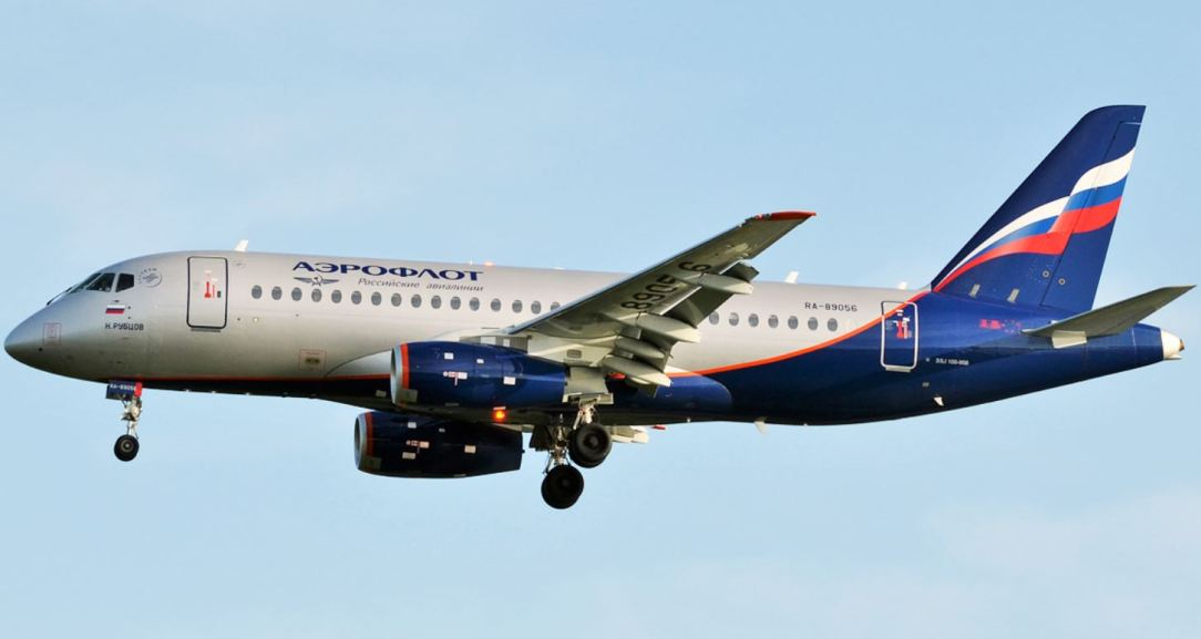 Aeroflot receives its fifth Superjet