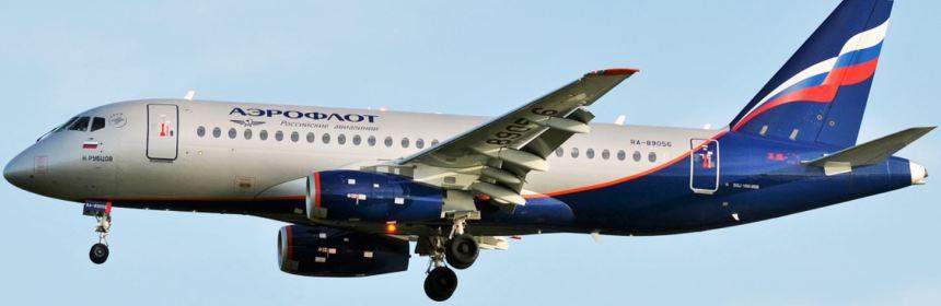 Aeroflot receives its fifth Superjet