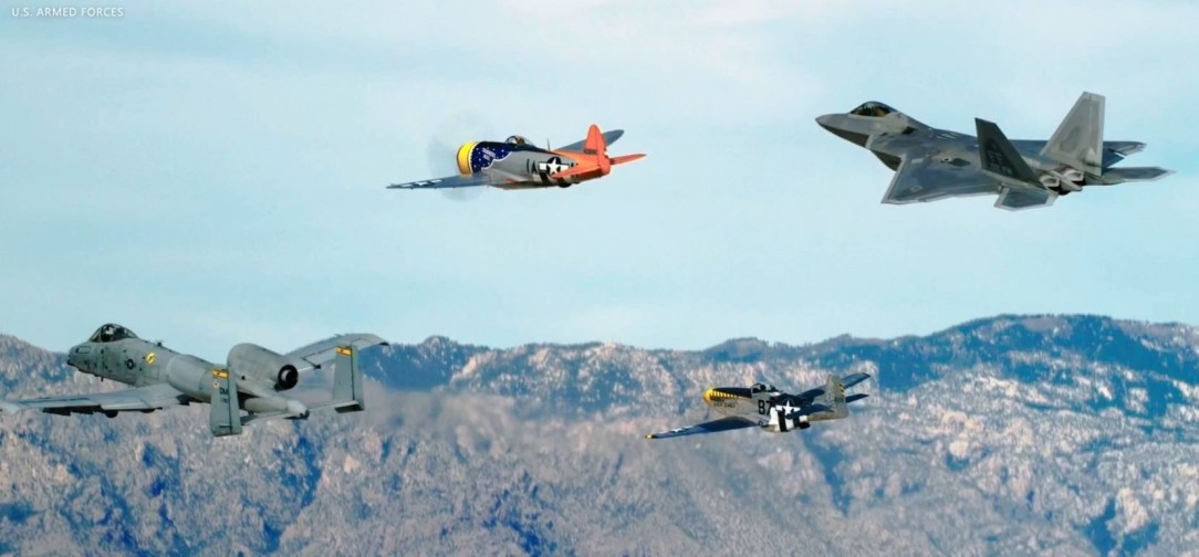 Air Combat Command Demo Teams