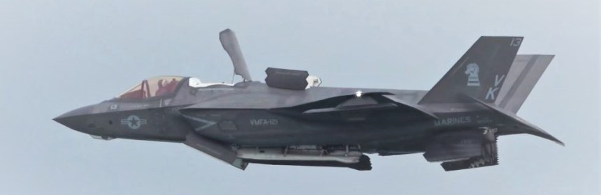 USMC F-35B STOVL Demo at Singapore Airshow 2020