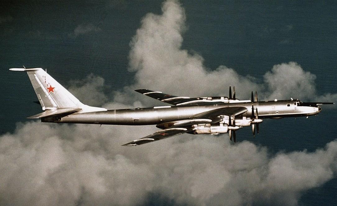 RAF Typhoon scrambled to intercept Russian Tu-142