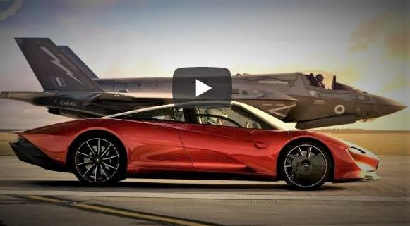 Top Gear Race - McLaren Speedtail vs. F-35 Lightning II
