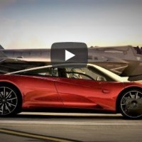 VIDEO - McLAREN SPEEDTAIL VS. F-35 LIGHTNING II