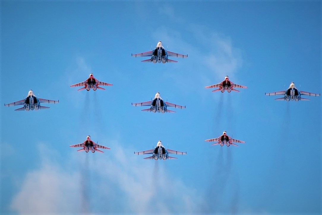 Special Airshow in Russia to Celebrate 75th Anniversary of Victory Day