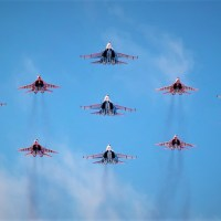 VIDEO - SPECIAL AIRSHOW IN RUSSIA TO CELEBRATE 75th ANNIVERSARY OF VICTORY DAY