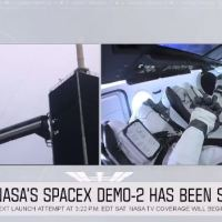 BAD WEATHER DELAYS SPACEX'S FIRST ASTRONAUT LAUNCH FOR NASA