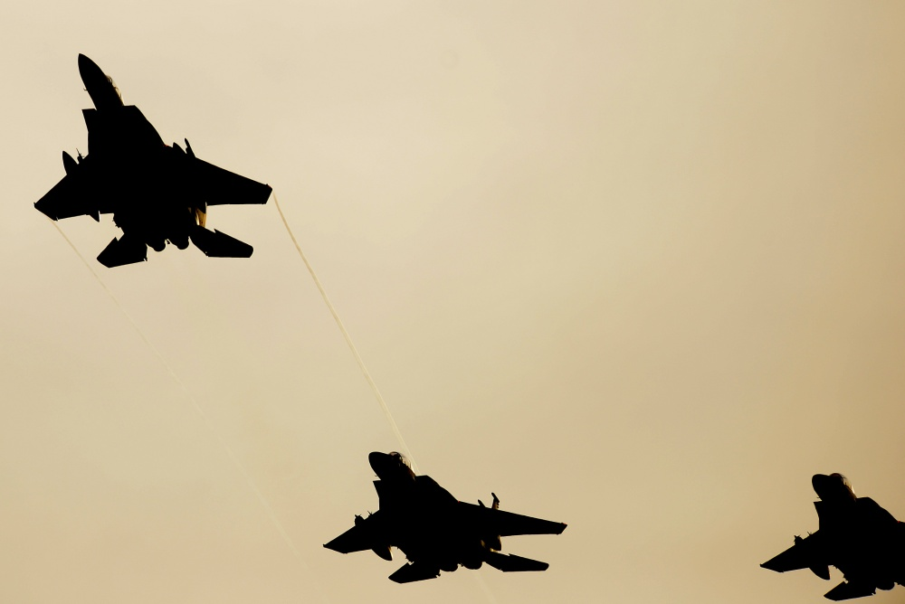F-15 pilot's name released by U.S. Air Force after North Sea crash