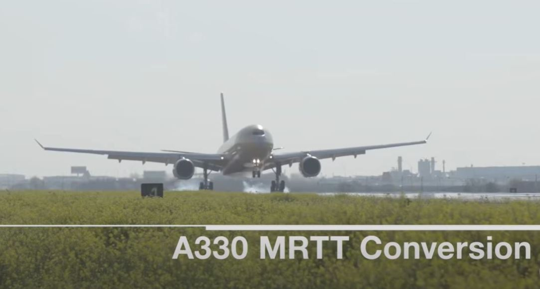 How Airbus transforms the A330 into the A330 MRTT Aerial Tanker