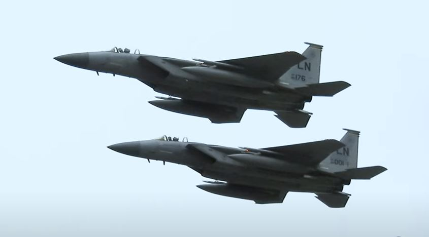 The U.S. confirms fighter jet flew close to Iranian passenger aircraft for inspection