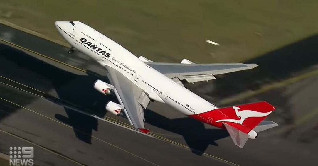Qantas Completes Last Boeing 747 Flight With Passengers From Sydney