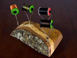 Keep your spools neat and at hand.