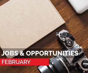 february - jobs and opportunities