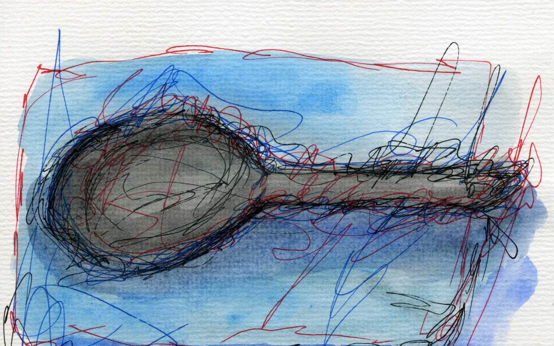 Abstract spoon (SOLD)