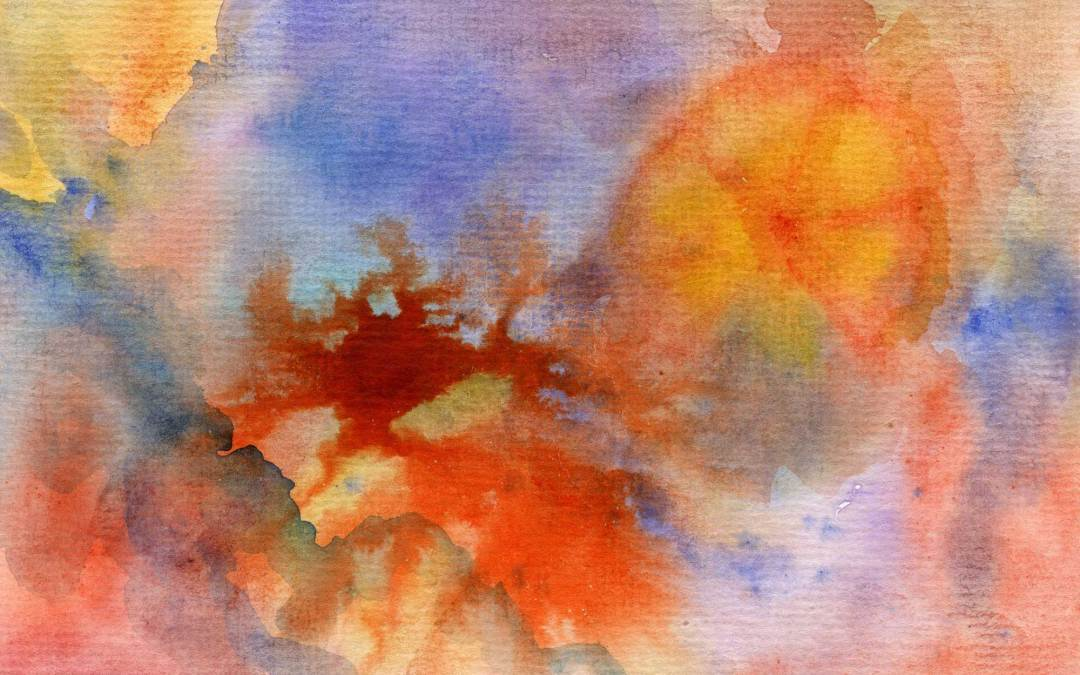 Orange Abstract – Daily Painting #531 (SOLD)