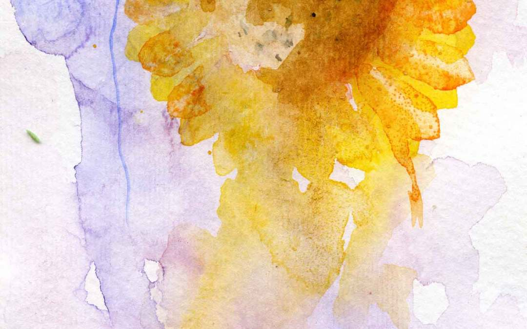 Sunflower – Daily painting #583 (SOLD)