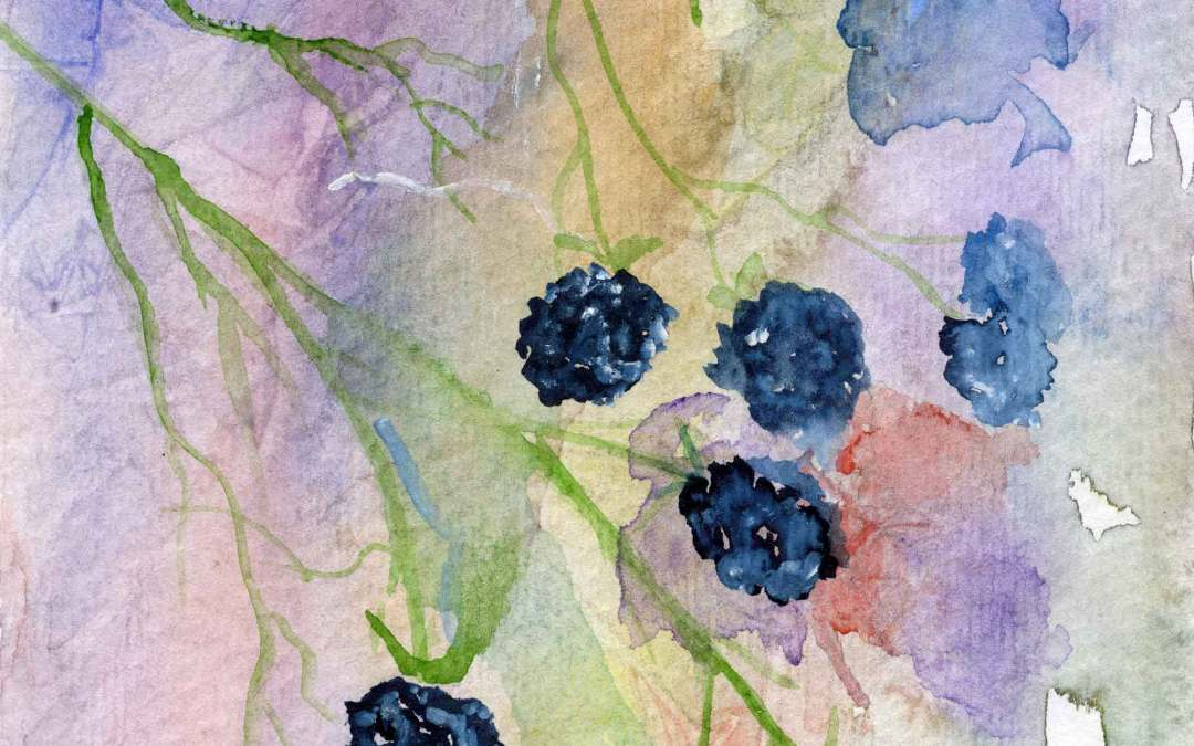 Blackberry – Daily Painting #586 (SOLD)