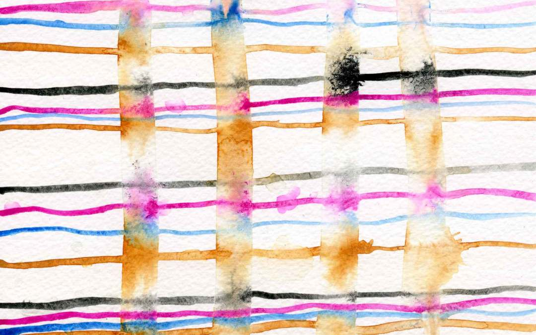 Lines Abstract – Daily painting #667
