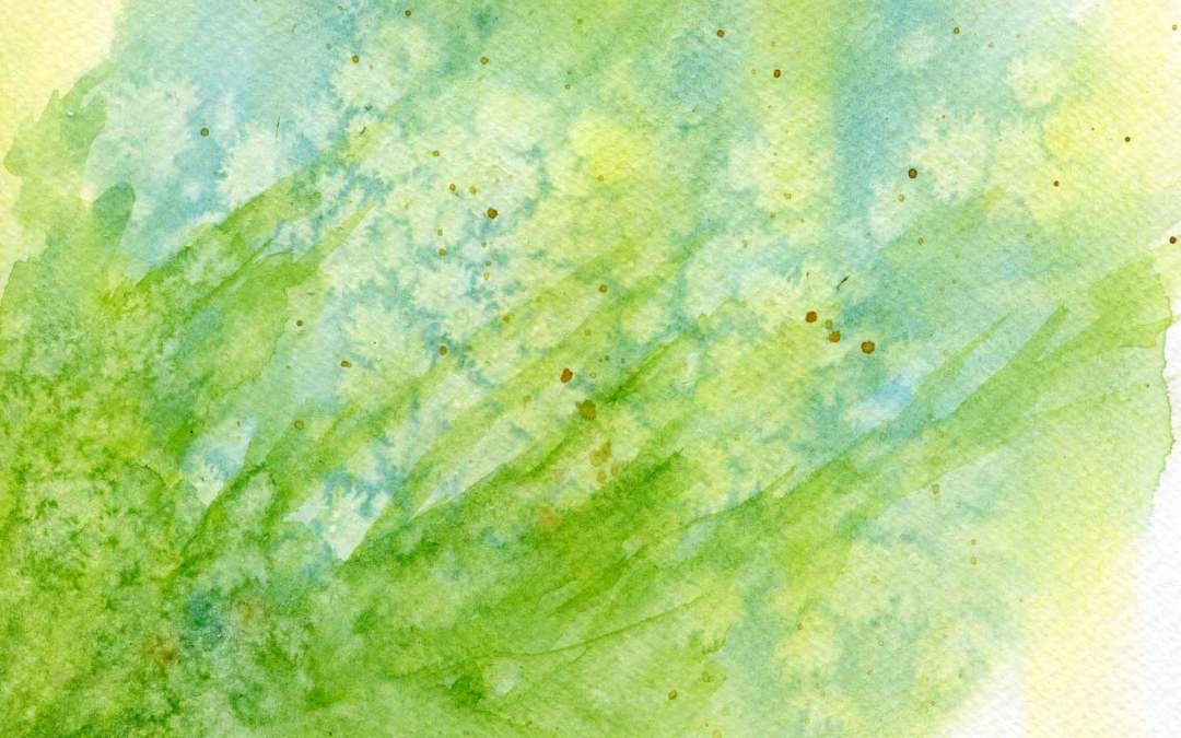 Grasses and flowers – Daily painting #660  (SOLD)