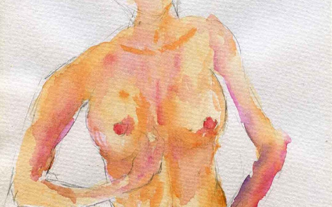 Nude – Daily painting #791