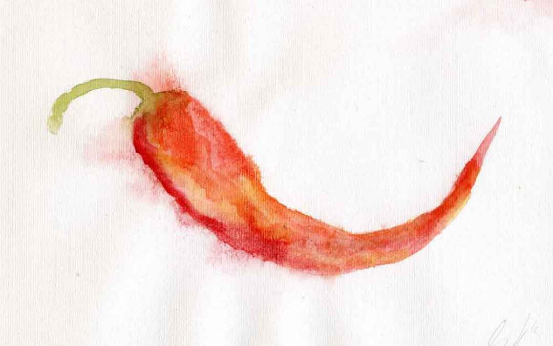 Red Chili Pepper – Daily Painting #874